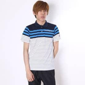 【アウトレット】マンシングウェア Munsingwear ゴルフシャツ 半袖シヤツ(ニツト) RM1588 (ブルー)