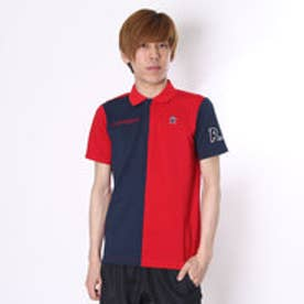 【アウトレット】マンシングウェア Munsingwear ゴルフシャツ 半袖シヤツ(ニツト) RM1586 (レッド)