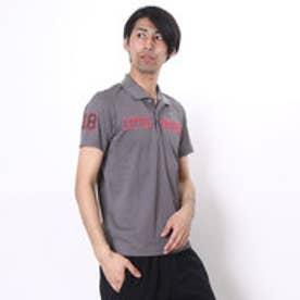 【アウトレット】マンシングウェア Munsingwear ゴルフシャツ 半袖シヤツ(ニツト) RM1593 (グレー)