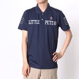 【アウトレット】マンシングウェア Munsingwear ゴルフシャツ 半袖シヤツ(ニツト) RM1593 (ネイビー)