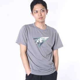 マーモット Marmot アウトドアTシャツ Fes Print H/S T MOT-S2323N  (グレー)