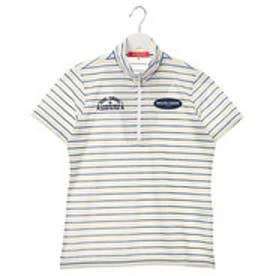 マリ クレール marie claire レディース ゴルフ 半袖シャツ 半袖ハーフジップシャツ 717604