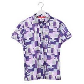 マリ クレール marie claire レディース ゴルフ 半袖シャツ 半袖ハイネックシャツ 717609