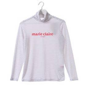 マリ クレール marie claire レディース ゴルフ 長袖シャツ 長袖ハイネックシャツ 717596