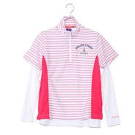 マリ クレール marie claire レディース ゴルフ セットシャツ インナーセット 半袖 シャツ 718500
