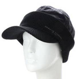 マリ クレール marie claire レディース ゴルフ ニット帽子 つば付きビーニー 738946 (ブラック)