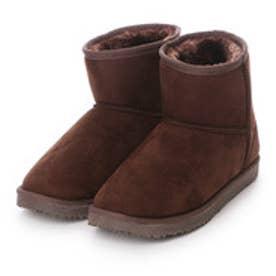 マリナ marina ブーツ インヒールムートン風ブーツ 1010000 ブラウン 4260 (ブラウン)