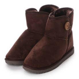 マリナ marina ブーツ インヒールムートン風ブーツ 605 ブラウン 4265 (ブラウン)