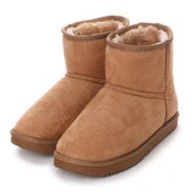 マリナ marina ブーツ インヒールムートン風ブーツ 1010000 ブラウン 4261 (ブラウン)