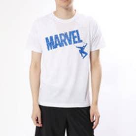 マーベル MARVEL メンズ 半袖Tシャツ MV-9C12328TSキ (ホワイト)