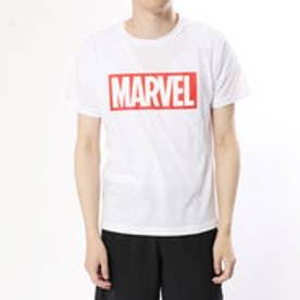 マーベル MARVEL メンズ 半袖Tシャツ MV-9C12208TSキ (ホワイト)