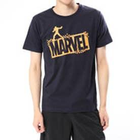 マーベル MARVEL メンズ 半袖Tシャツ MV-9C12348TSキ (ネイビー)