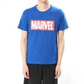 マーベル MARVEL メンズ 半袖Tシャツ MV-9C12208TSキ (ブルー)