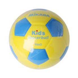 ミカサ MIKASA ジュニア サッカー 練習球 スマイルサッカーボール3号 SF3-YBL