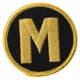 ミカサ MIKASA 雑貨・アクセサリー マネージャーマーク 刺繍 黒/金 KMGM  (ブラック)