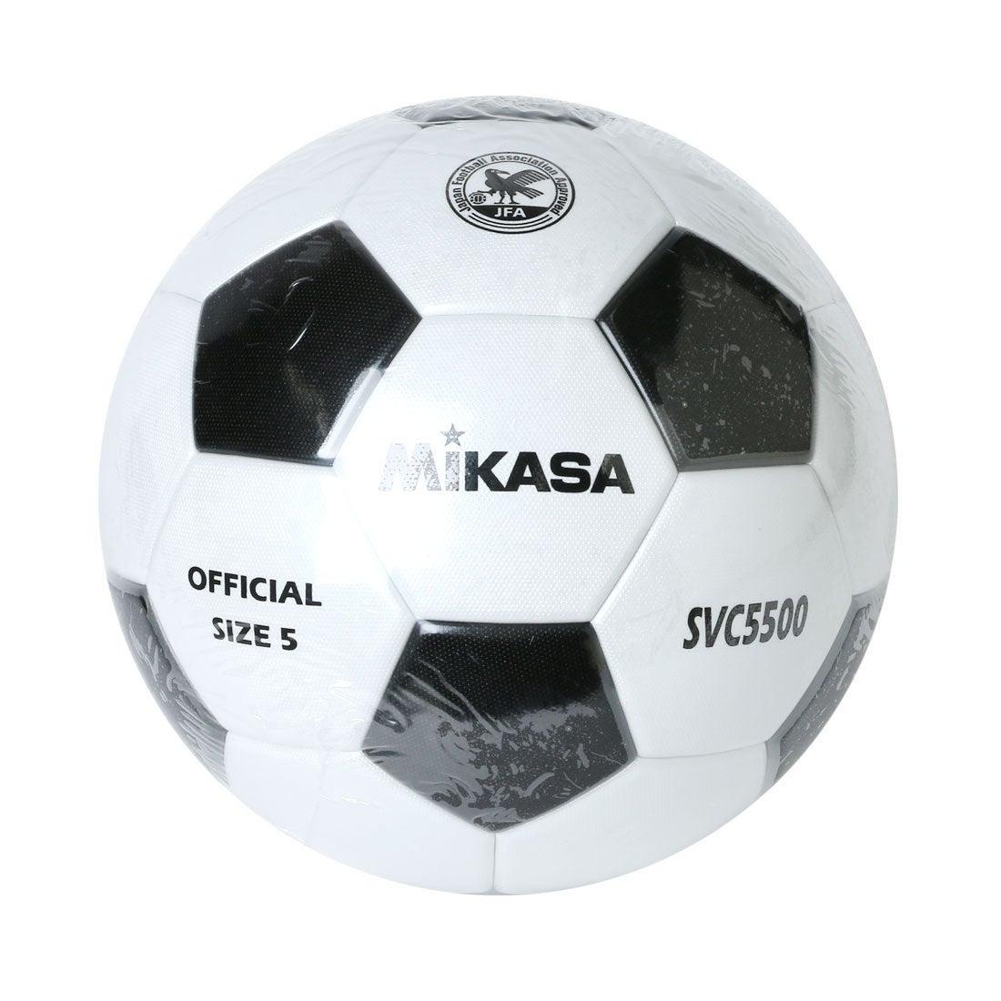【SALE 7%OFF】ミカサ MIKASA ユニセックス サッカー 試合球 SVC5500-WBK SVC5500-WB