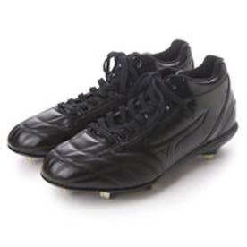 ミズノ MIZUNO 野球スパイク ミズノプロCQ MID 11GM160100 (ブラック×ブラック)