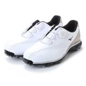 ミズノ MIZUNO メンズ ゴルフ ダイヤル式スパイクシューズ WIDE STYLE 002 Boa 51GQ174050