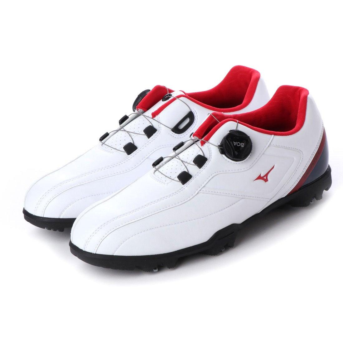 ロコンド 靴とファッションの通販サイトミズノ MIZUNO メンズ ゴルフ ダイヤル式スパイクシューズ Light Style 003 Boa 51GM196014 115