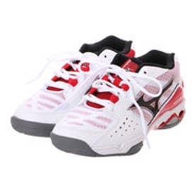 ミズノ MIZUNO ユニセックス テニス オールコート用シューズ ウエーブチャレンジ WIDE 6 61GA163062 171