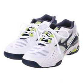 ミズノ MIZUNO ユニセックス テニス オムニ/クレー用シューズ ウエーブデュアル WIDE 6 61GB163014 168