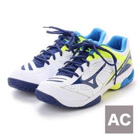 ミズノ MIZUNO ユニセックス テニス オールコート用シューズ ウエーブエクシード AC 61GA175314 161