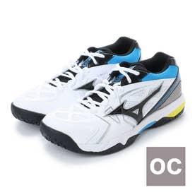 ミズノ MIZUNO テニス オムニ クレー用シューズ ウエーブブレイクワイド OC 61GB183009 155