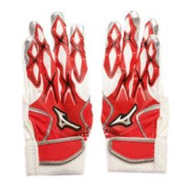 ミズノ MIZUNO ジュニア 野球 バッティング用手袋 セレクトナイン(ジュニア打者用手袋/両手) 1EJEY14062