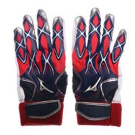 ミズノ MIZUNO ジュニア 野球 バッティング用手袋 セレクトナイン(ジュニア打者用手袋/両手) 1EJEY14046