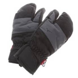 【アウトレット】ミズノ MIZUNO メンズ スキーグローブ ファブリック3フィンガーミトン Z2JY550709 ブラック