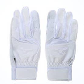 ミズノ MIZUNO ユニセックス 野球 バッティング用手袋 洗える天然皮革【両手用】 1EJEH13310