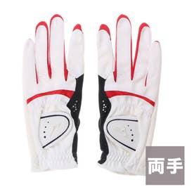 ミズノ MIZUNO レディース ゴルフ グローブ 5MJWB65114 (ホワイト)
