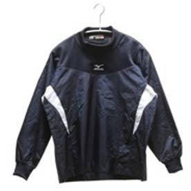 ミズノ MIZUNO ジュニア野球ウィンドシャツ ジュニア・トレーニングジャケット 12JE4J3114  (ネイビー)
