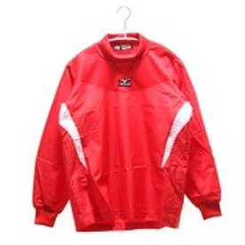 【アウトレット】ミズノ MIZUNO ジュニア野球ウィンドシャツ ジュニア・トレーニングジャケット 12JE4J3162  (レッド)