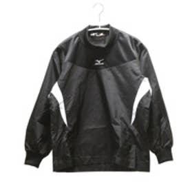ミズノ MIZUNO ジュニア野球ウィンドシャツ ジュニア・トレーニングジャケット 12JE4J3109  (ブラック)