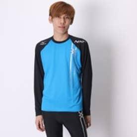 【アウトレット】ミズノ MIZUNO メンズ ランニングシャツ U2MA551124S (ブラック BL)