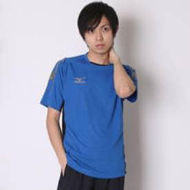 ミズノ MIZUNO サッカーゲームシャツ ゲームシャツ P2MA501526 ブルー  (ターキッシュブルー×ブラック)