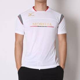 ミズノ MIZUNO サッカープラクティスシャツ プラクティスシャツ P2MA608001  (ホワイト)