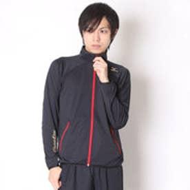 ミズノ MIZUNO 野球長袖ウィンドシャツ グローバルエリートストレッチジャケット・長袖 12JE6K8909 (ブラック)