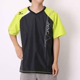 【アウトレット】ミズノ MIZUNO バレーボールウォームアップジャケット ピステ V2ME550293 ブラック×ライムグリーン (ブラックYL/GR)