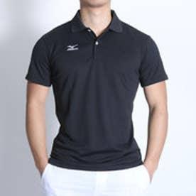 ミズノ MIZUNO テニス用ポロシャツ ゲームシャツ 62JA601009 ブラック  (ブラック)