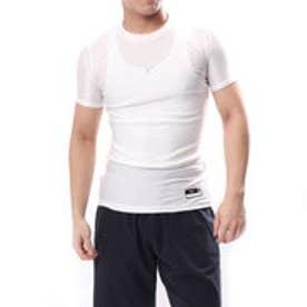 ミズノ MIZUNO 野球 半袖 アンダーシャツ バイオギア ローネック 半袖 12JA8C3101