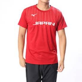 ミズノ MIZUNO バレーボール 半袖Tシャツ 全日本応援Tシャツ V2MA858063