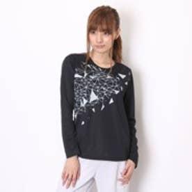 【アウトレット】ミズノ MIZUNO レディス ランニングシャツ 長袖Tシャツ 32JA584509S (ブラック)