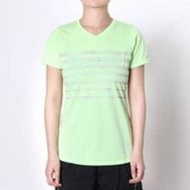ミズノ MIZUNO レディースランニング半袖Tシャツ  MZ J2MA6206 16S  (ペールグリーン)