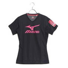 ミズノ MIZUNO レディース バレーボール 半袖プラクティスシャツ ブレスサーモプラクティスシャツ V2MA778096