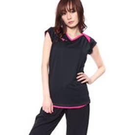ミズノ MIZUNO レディース バレーボール 半袖プラクティスシャツ プラクティスキャップスリーブシャツ V2MA828298
