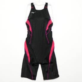 ミズノ MIZUNO レディース 水泳 競泳水着 ストリームアクティバ ハーフスーツ(オープン) N2MG824096
