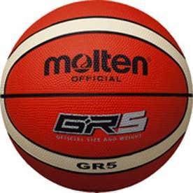 モルテン molten バスケットボール GR5 BGR5-OI 14 (オレンジ×アイボリー)