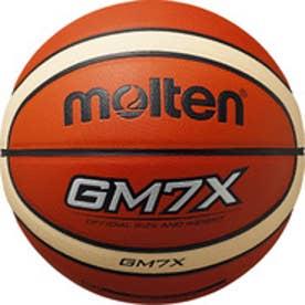 モルテン molten バスケットボール GM7X BGM7X-TI 15 (オレンジ×アイボリー)